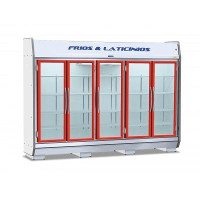 Expositor Autoserviço 05 Portas, Bebidas, Frios e Laticínios EAS-285 Fortsul