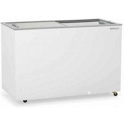 Freezer Dupla Ação Vidro Deslizante - GHDE 410