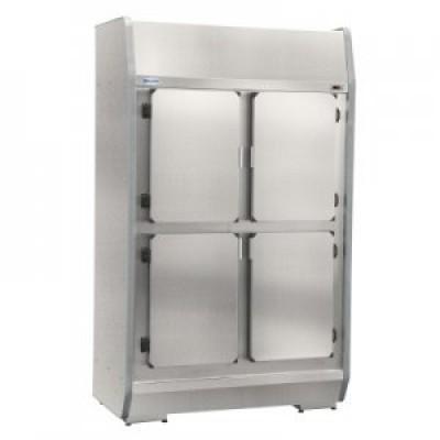 Geladeira 4 Portas Para Bebidas Em Aço e Inox Escovado