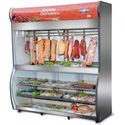 Expositor Germânia Alto Carnes e Derivados